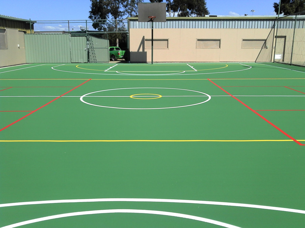 GeckoPave Acrylic Surfacing for Sports Courts
