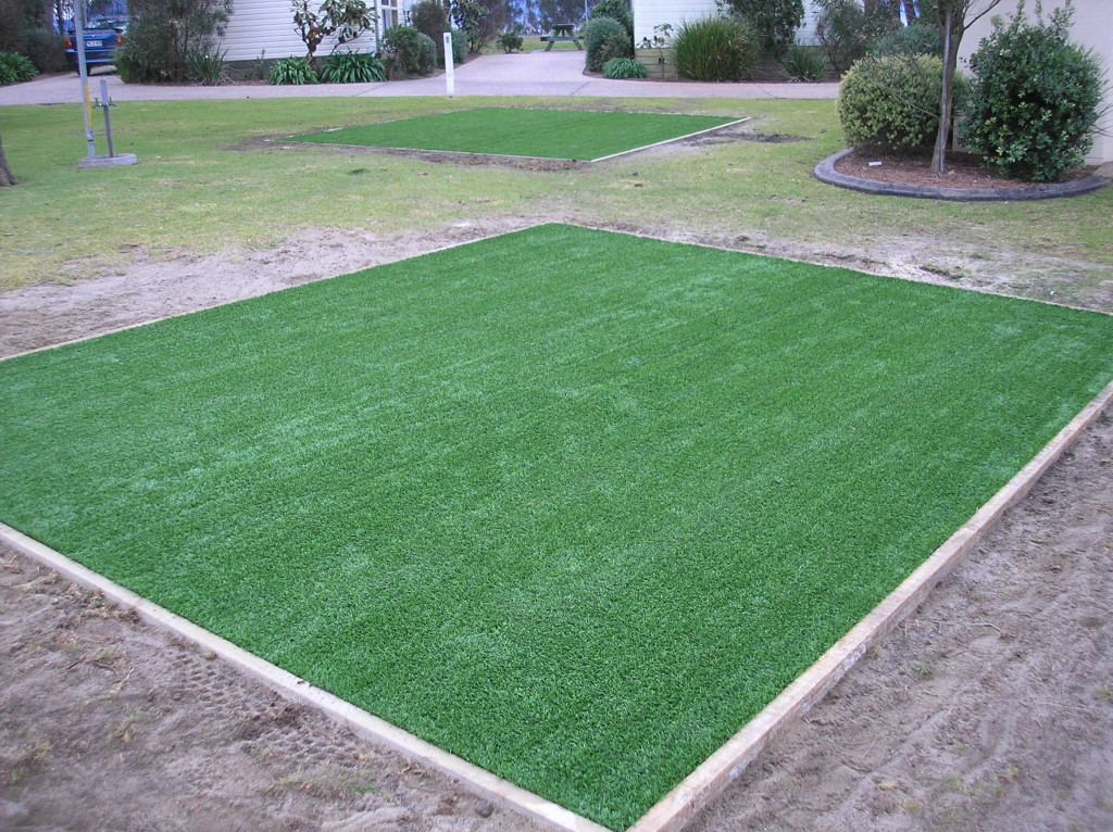 Synthetic Campsite Grass