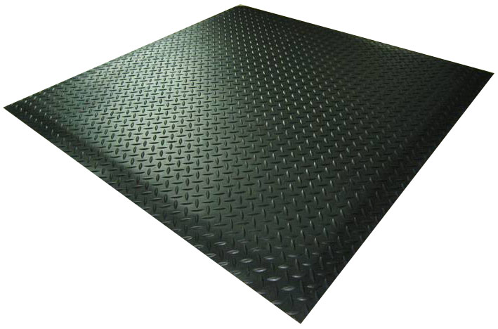 Rubber Matting - Checkerplate Mat