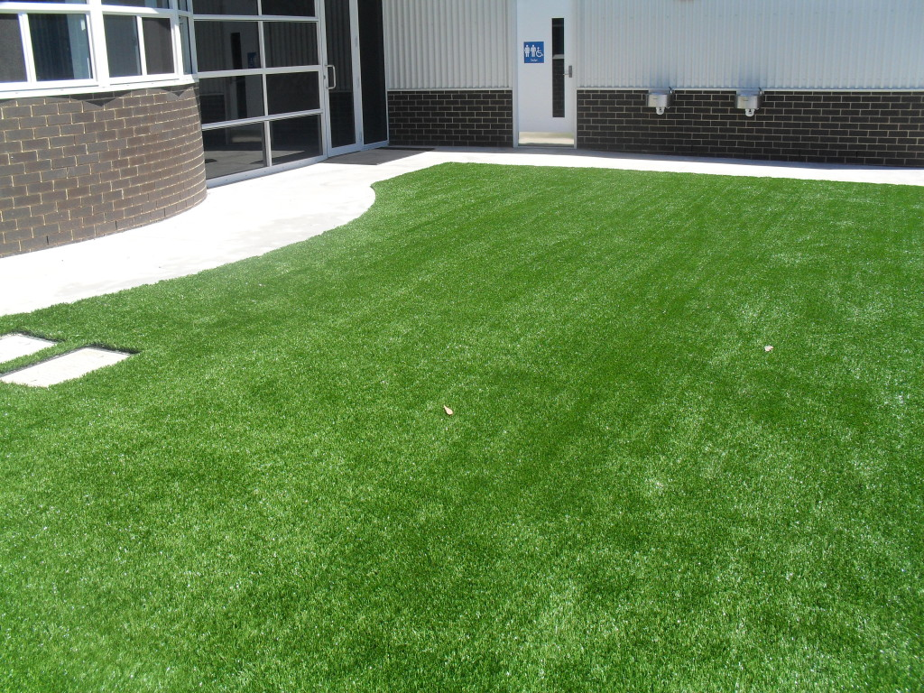 Synthetic Grass for School Landscaping