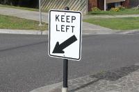 Flexible Sign Posts