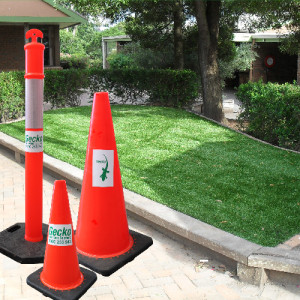Gecko Safety Cones and Bollards
