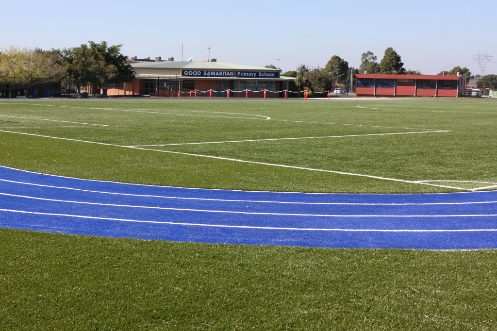 Synthetic Grass Surfacing for Sports Fields