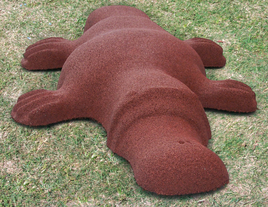 Rubber Platypus for Playgrounds
