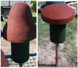 Magic Mushroom and Toadstool Seat