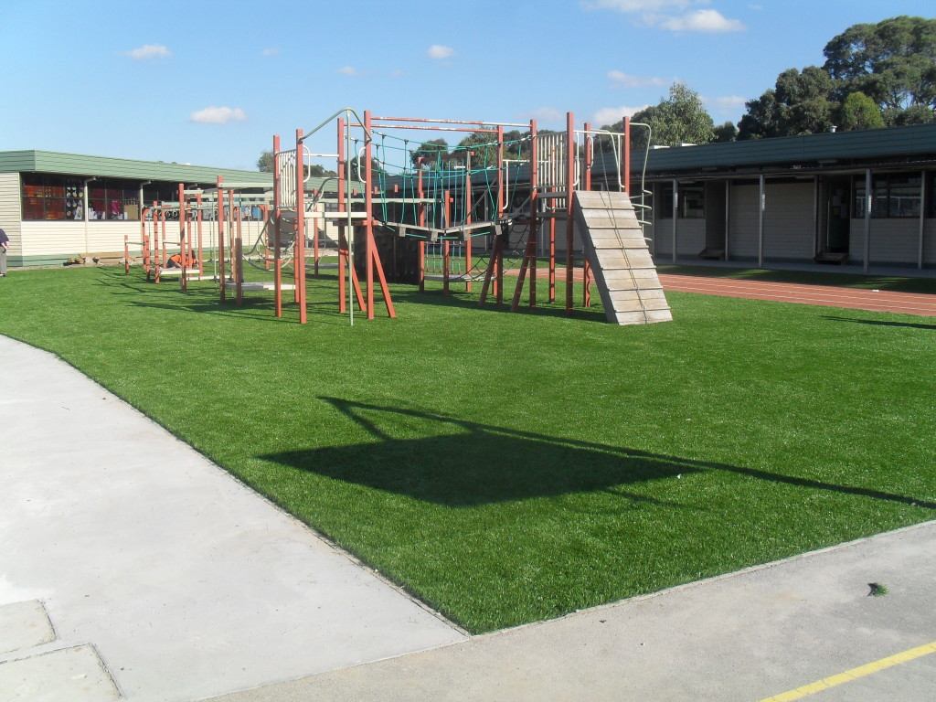 Synthetic Grass for Large Playground Areas