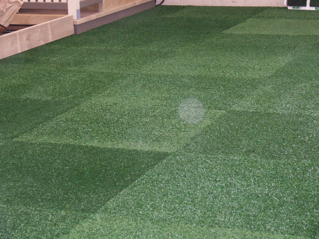 Geckos Turf Tiles are Attractive and Versatile