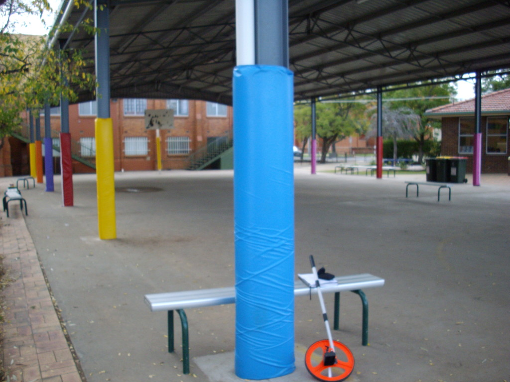 Sports Equipment - Post Pad