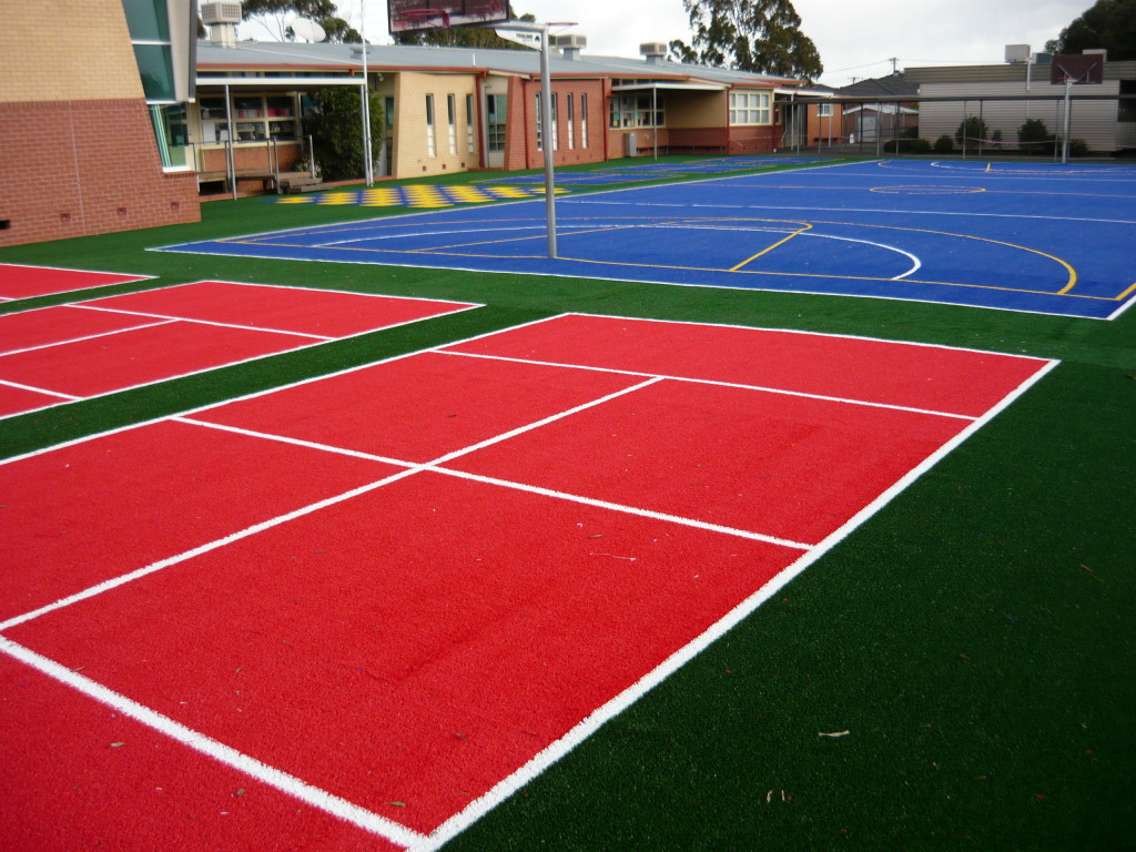 Multi-Sport and Bat Tennis Courts