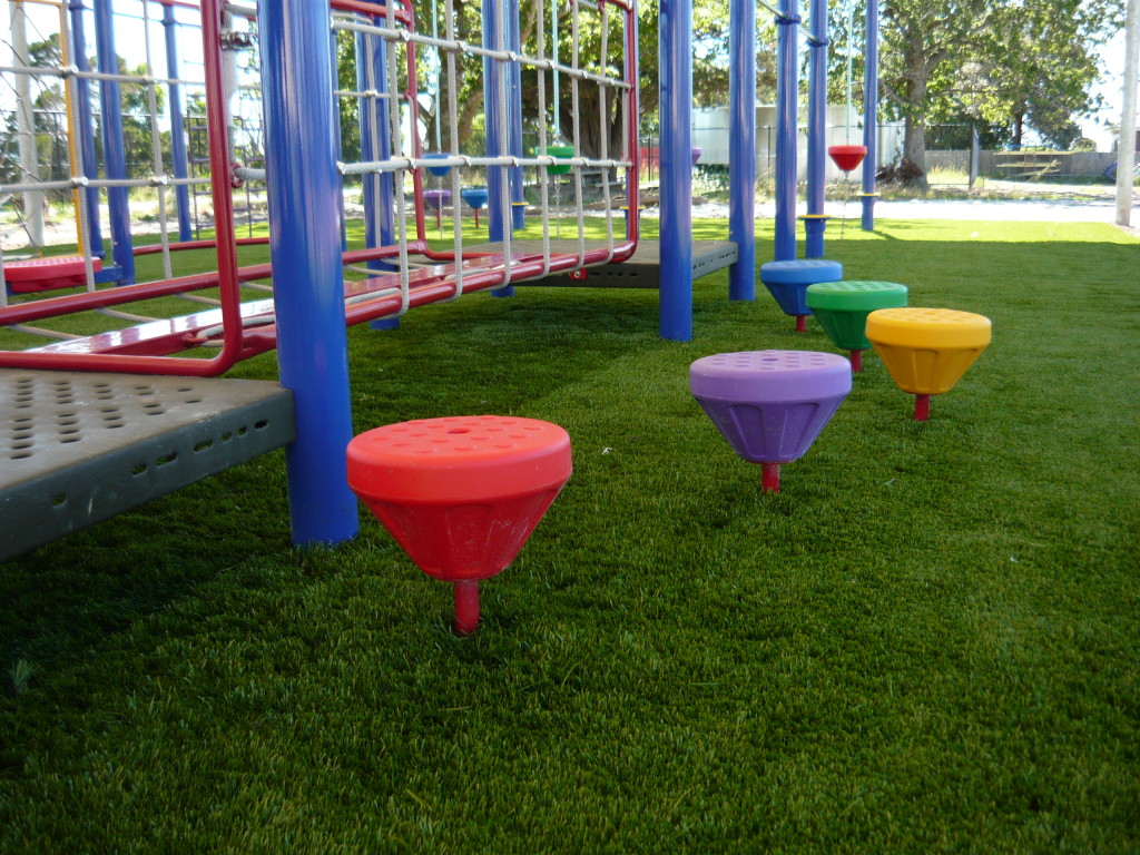 Soft-Fall Playground System