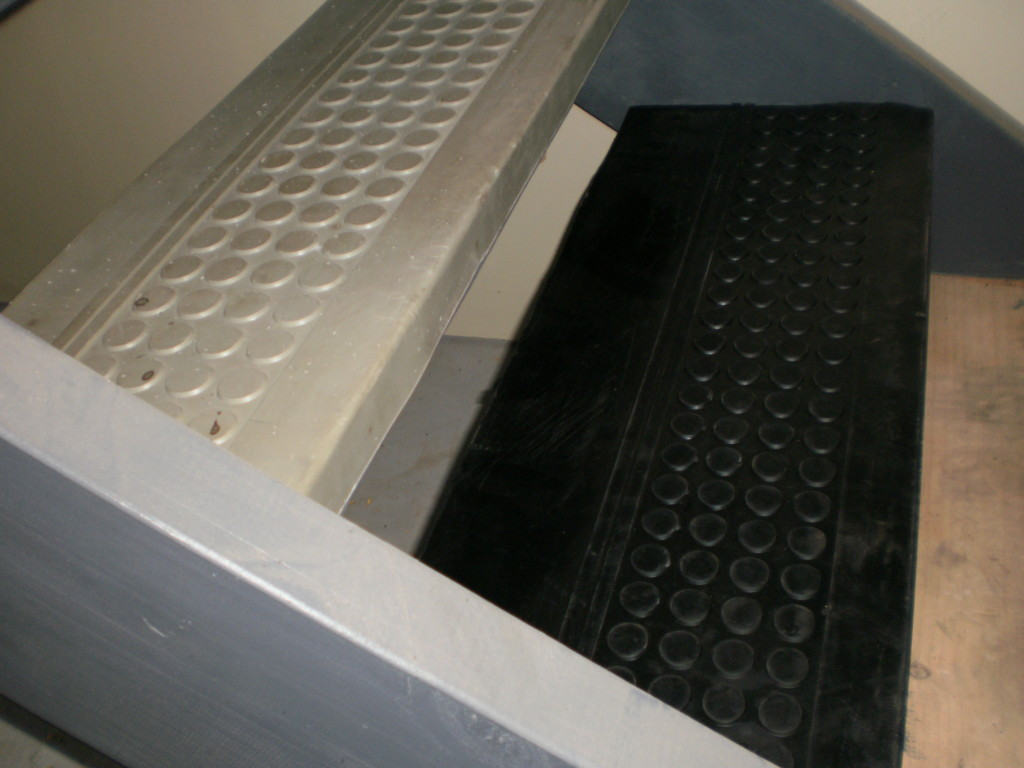 Rubber Matting - Stair Treads