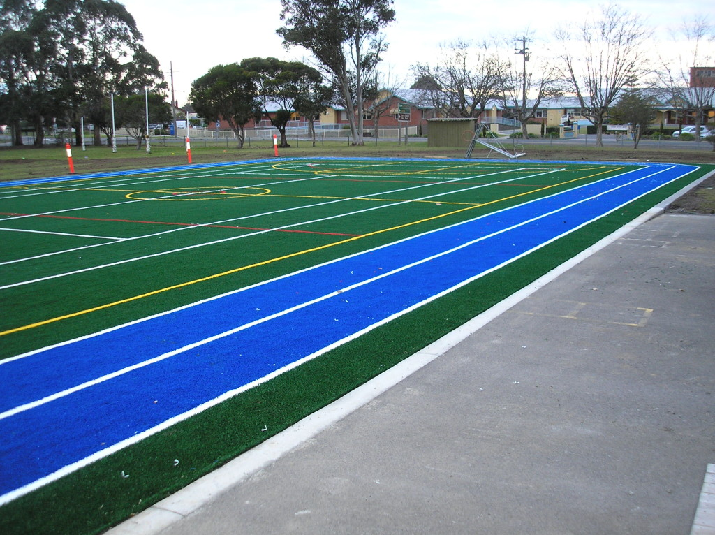Running Tracks and Sports Courts